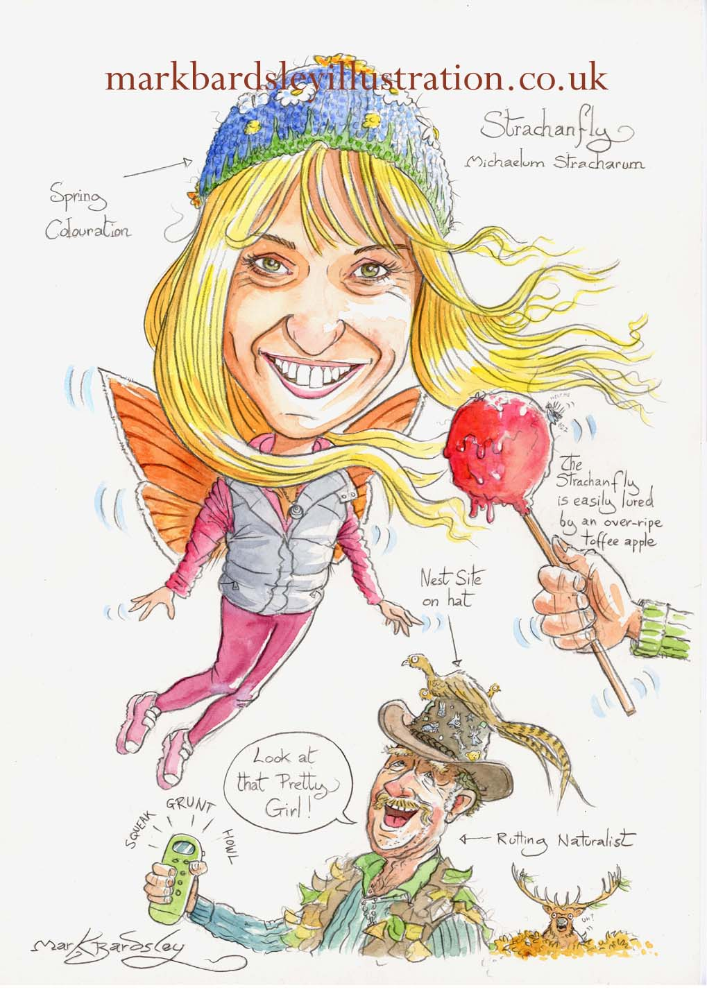 michaela strachan cartoon