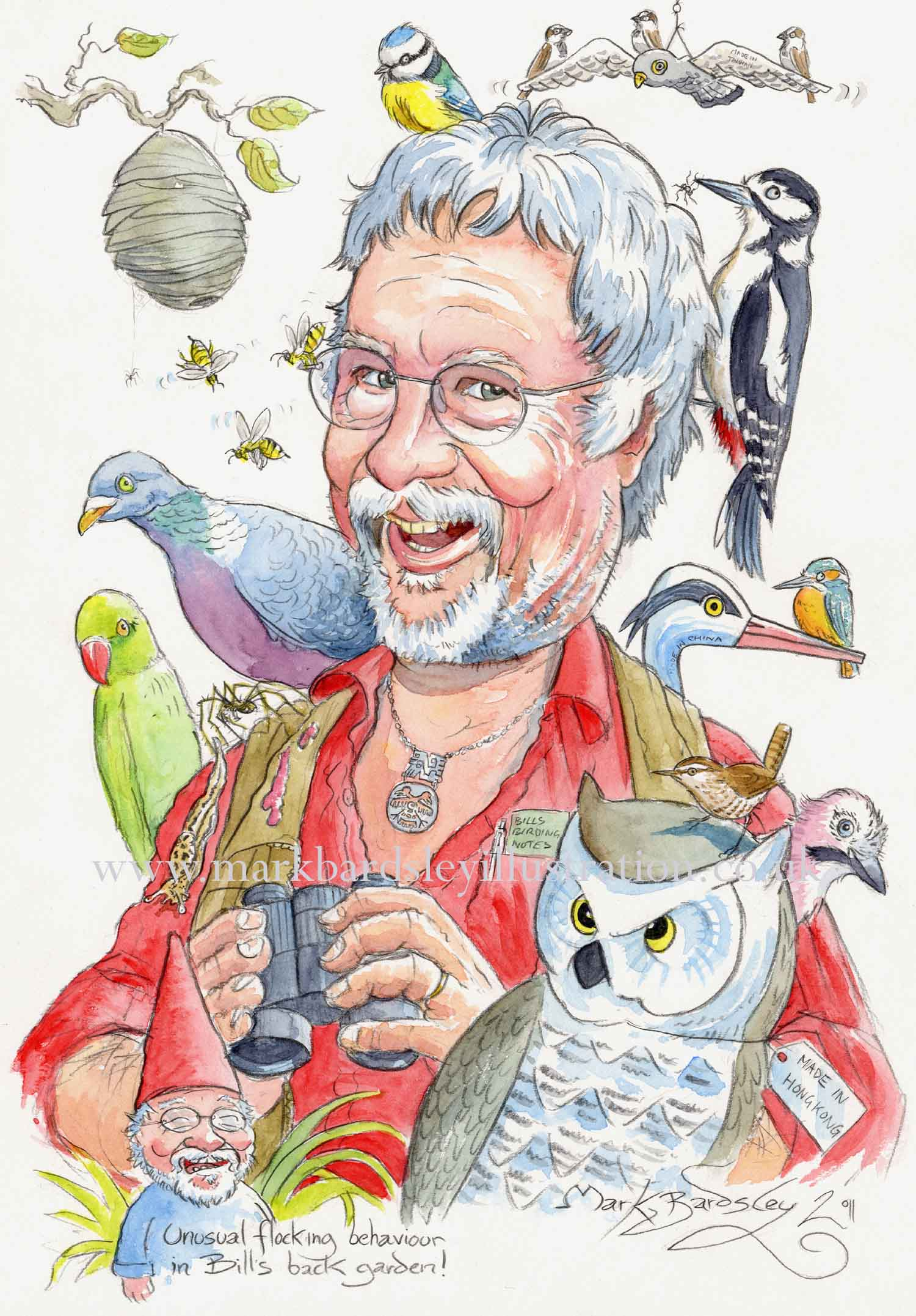 bill oddie cartoon